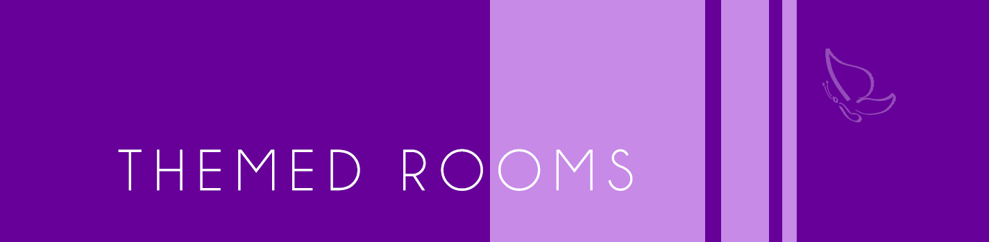 Our themed rooms