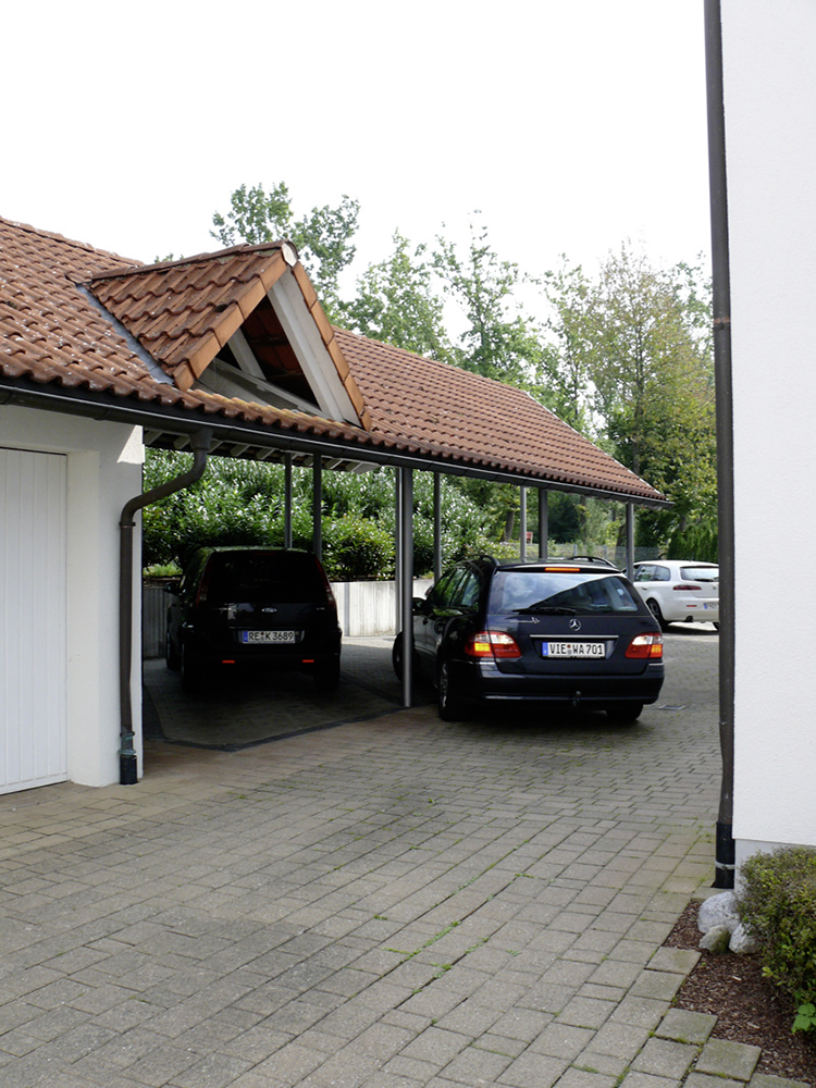 Carport for your car in front of the house